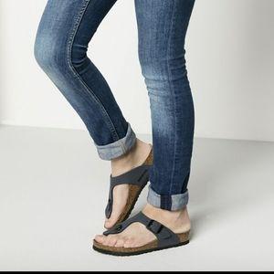 Blue Gizah Thong Classic Birkenstock Sandals